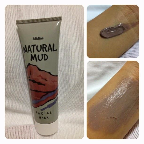 Mistine NATURAL MUD Facial Mask / Masker Lumpur Egg White / Eggwhite