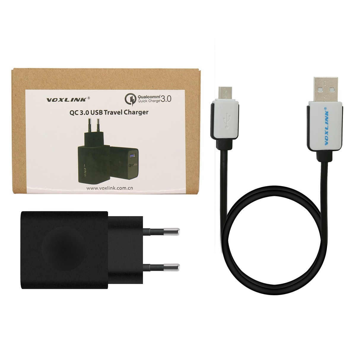 [Qualcomm Quick Charge 3.0 USB Charger, 1-ports Charger
