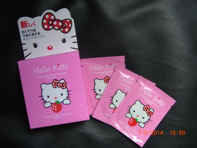 Masker Lumpur Naturgo Hello Kitty