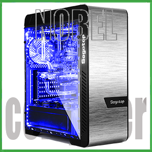 SEGOTEP EOS SILVER - Double Full Side Tempered Glass - USB 3.0