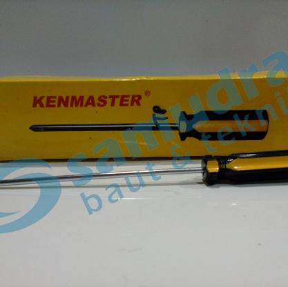 Obeng Warna 6 Inch (+) (-) KENMASTER