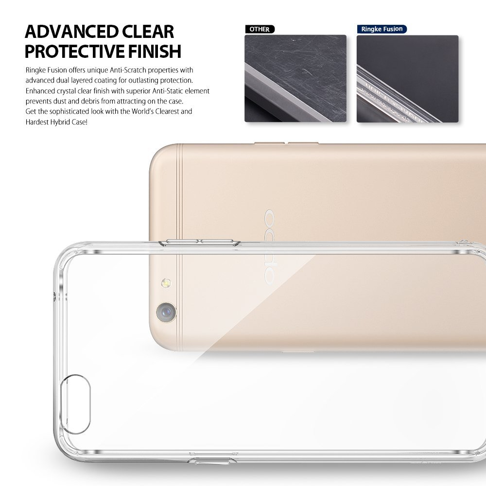 Ringke Oppo R9S Case Fusion - Clear