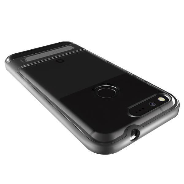 Verus Google Pixel Case Crystal Bumper - Dark Silver