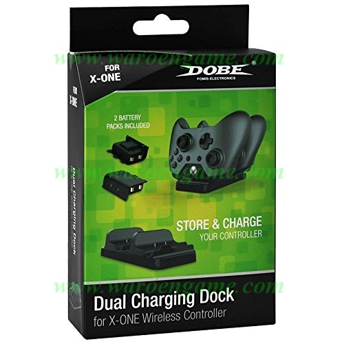 Dobe Dual Controller Charger For Xbox One Wireless Cont Diskon