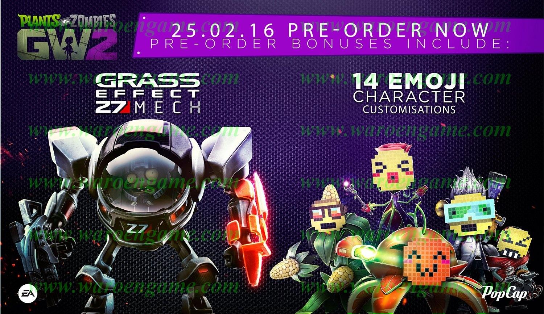 PS4 Plants Vs Zombies: Garden Warfare 2 R3 Limited
