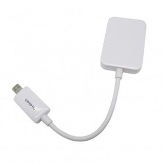 NOOSY HDTV Adapter For Samsung Galaxy S3 / S4 / Note 2 - MHL01 - White