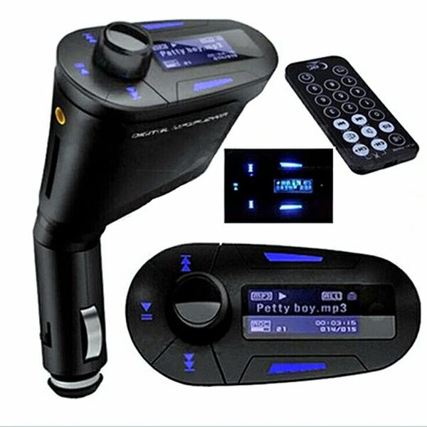 Car Kit Mp3 Player Fm Transmiter Full Usb Dan Slot Micro Sd Terlari