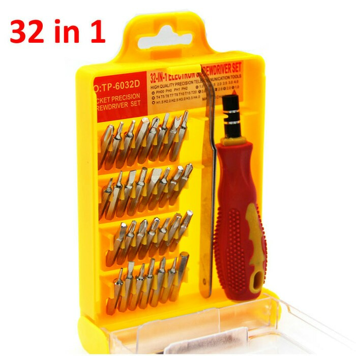 Obeng Set Toolkit 32 In 1 THEBESTT