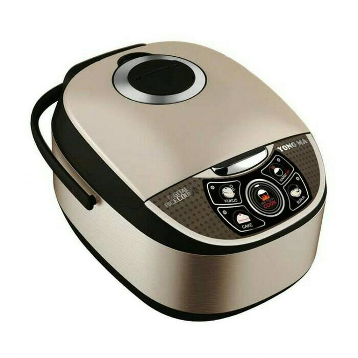 YONG MA YMC 111 Rice Cooker Digital Teflon Gold Iron YMC111 - 2 Lt