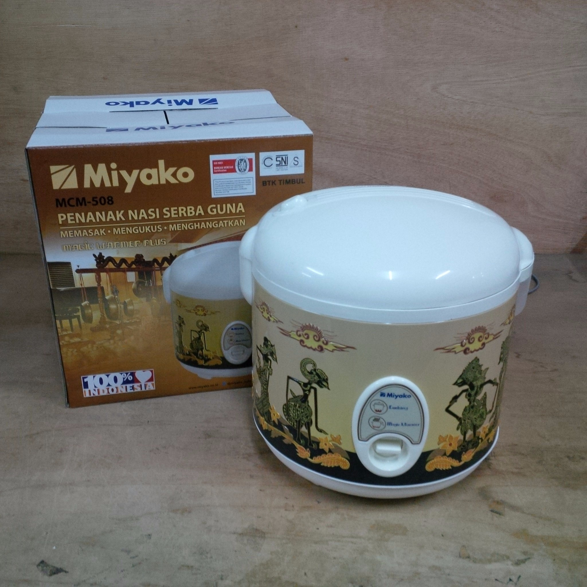 Magic Com / Rice Cooker MIYAKO MCM-508 1,8LT