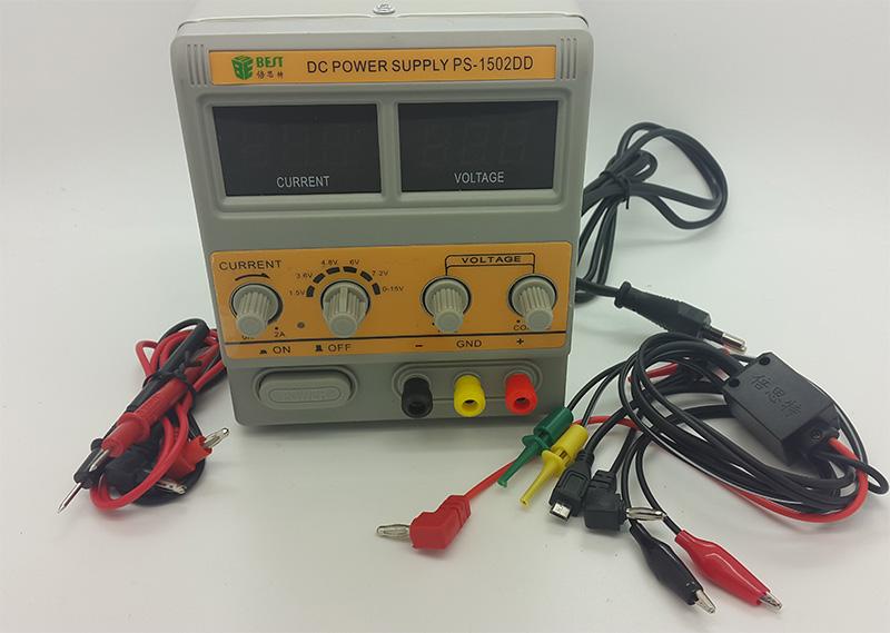 DC Power Supply (0-15v & 0-2A) Adjustable / Adaptor Digital