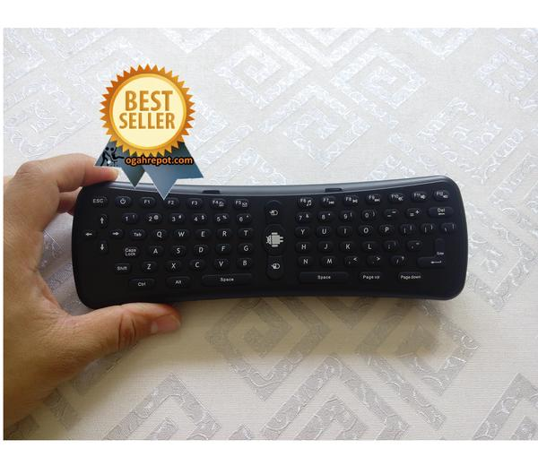 2.4Ghz Wireless Gyroscope Air Mouse Keyboard For PC / Smart TV / Andro
