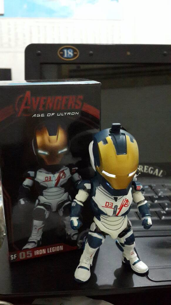 Action Figure Ironman Legion -Age Of Ultron