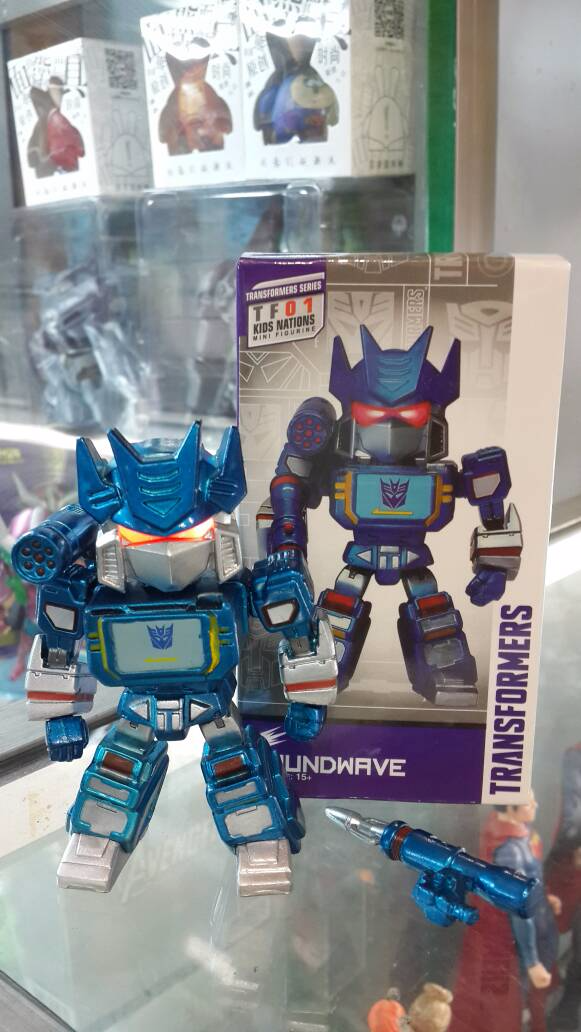 Action Figure Transformers - Soundwave (Kid Nations)