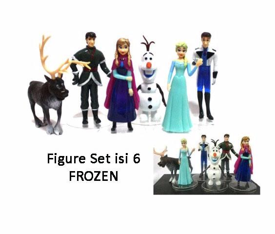 Kado FG04 Figure Set Isi 6 Frozen