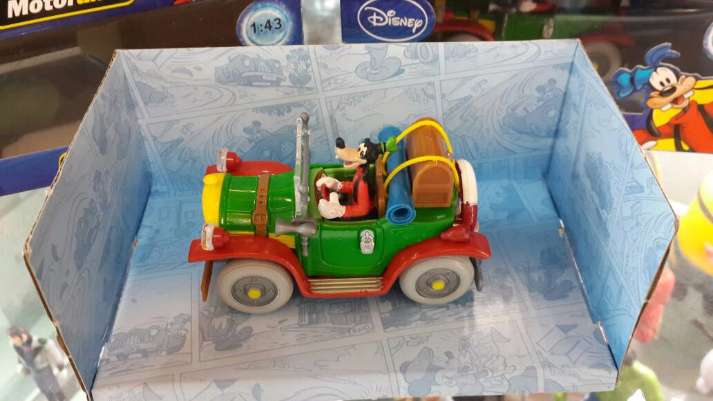 Action Figure Die Cast - Goofy (Disney) 1:43