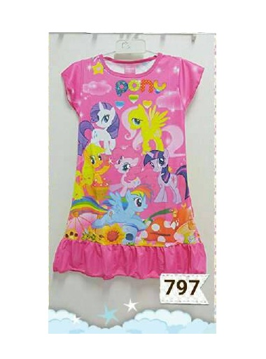Dress Daster My Little Pony Printing Jumbo (XL-X3L)