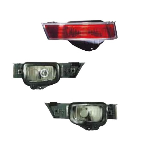 217-4002-LD-U Garnish Stoplamp Accord 08-12 Crystal Red Berkualitas
