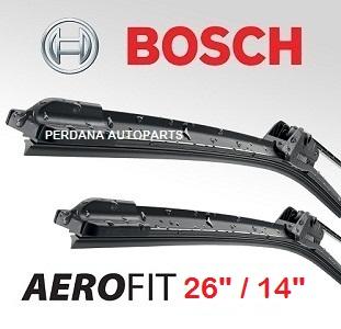Wiper Toyota All New Altis - BOSCH Aerofit 26/14 Berkualitas