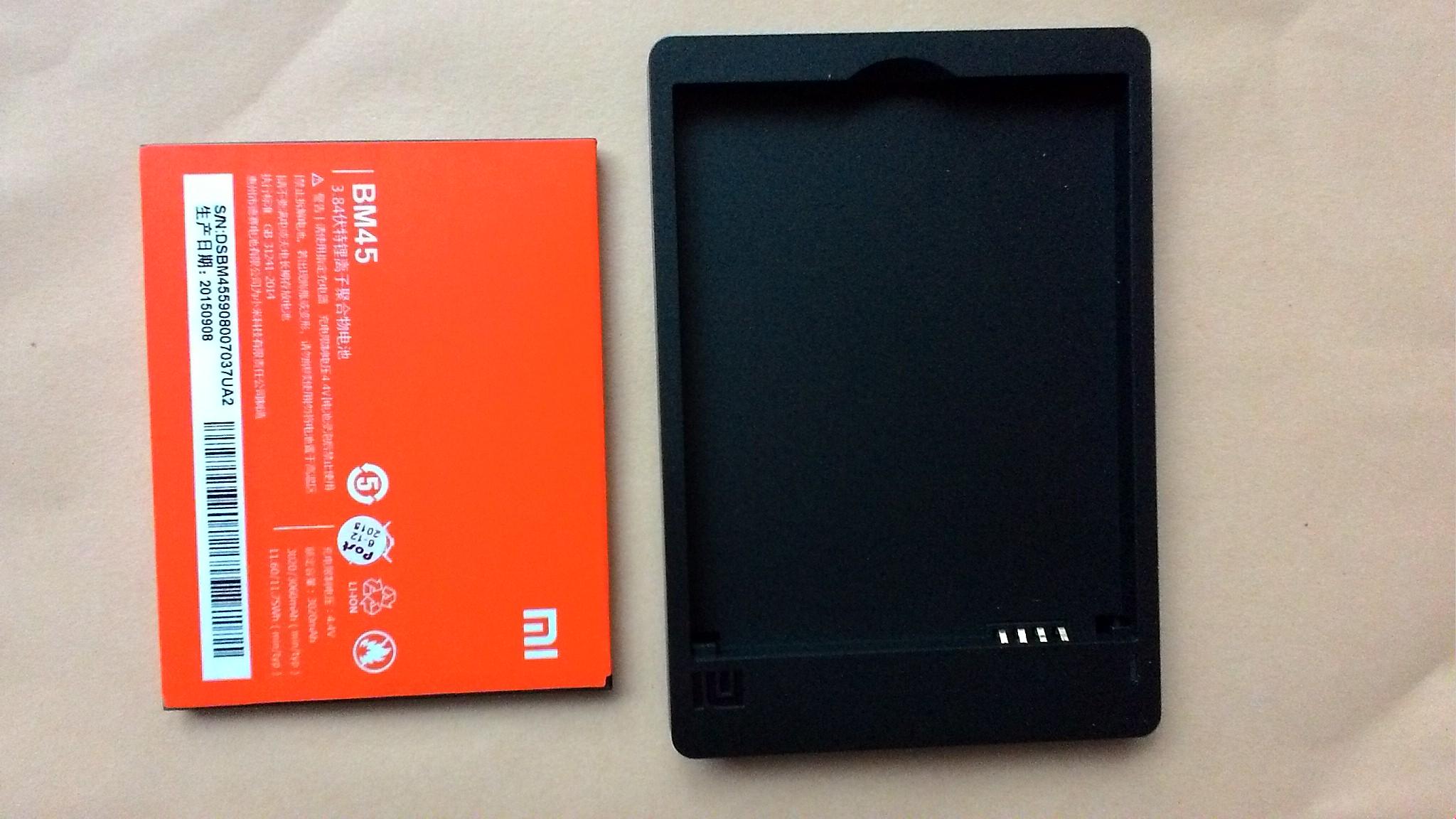 Baterai Xiaomi Redmi Note 2 Plus Deskop Original 100