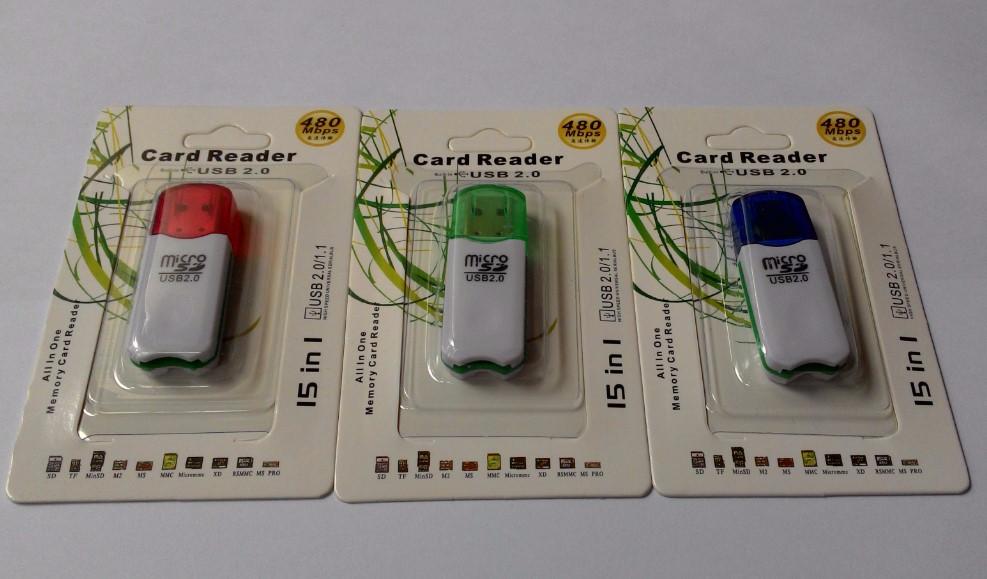 Card Reader 1 Slot Colok LTE-114