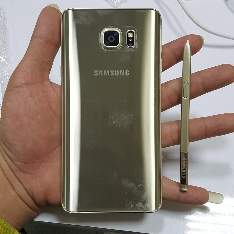 Samsung Galaxy Note 5 32gb Gold (SECOND) PREORDER KODE 661