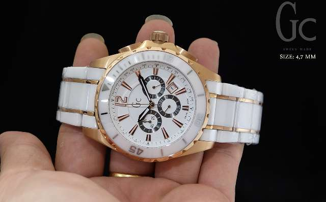 Gc X760 Rosegold White Ceramic