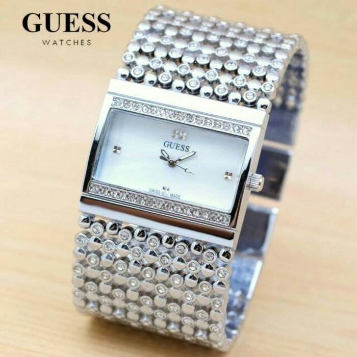 Jam Tangan Guess SA124 - Silver