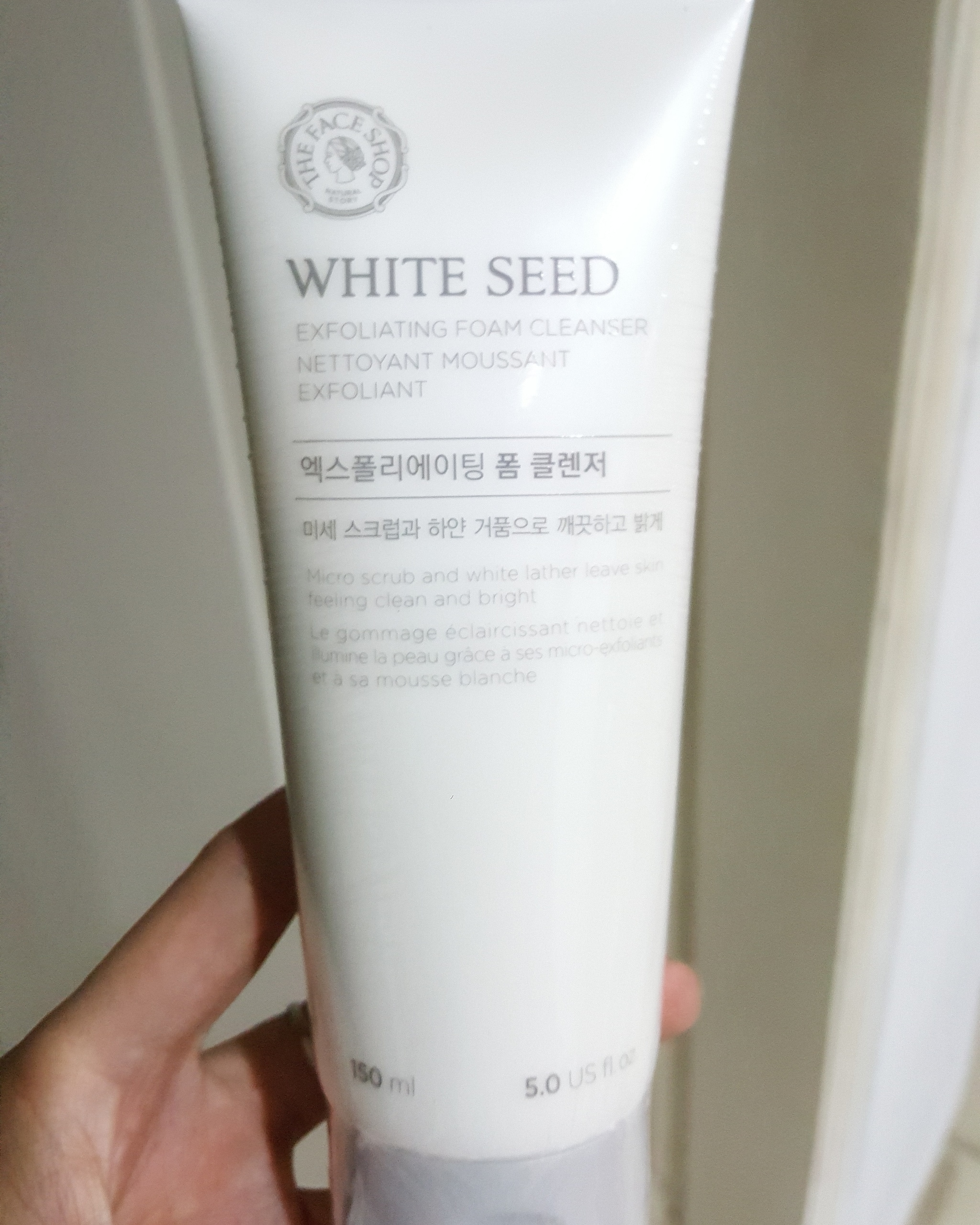 The Faceshop White Seed Brightening Foam