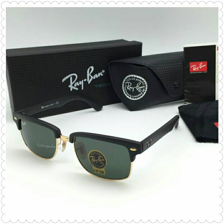 1a898582f7 Rb4190 52 Clubmaster Square. Ray-Ban ...