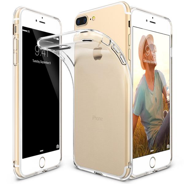 Ringke Air Soft Case for iPhone 7 Plus - Clear Transparent