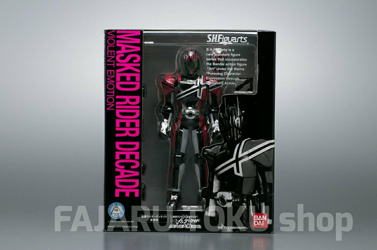 SHF Kamen Rider Decade Violent Emotion Version Masked S H Figuarts