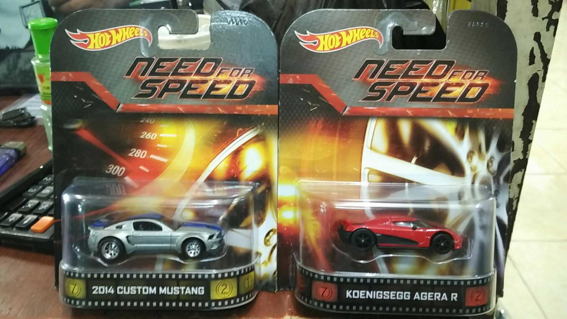 Jual Hot Wheels MUSTANG Dan KOENIGSEGG AGERA Need For Speed Raiya