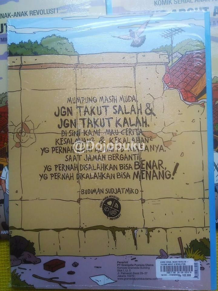 Komik Serial Anak-anak Revolusi - Talking About A Revolution - 1104