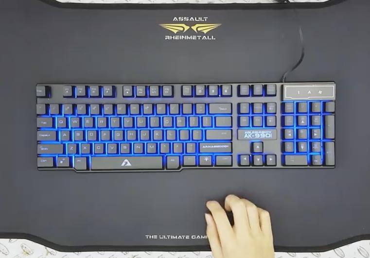 Kalashinikov AK 990i Gaming Keyboards Source Jual KEYBOARD GAMING ARMAGGEDDON AK 990 Dunia .