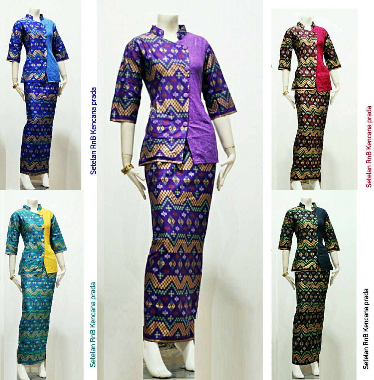 Jual batik wanita  setelan rok n blouse  batik kebaya  batik kode ... f8975f8192