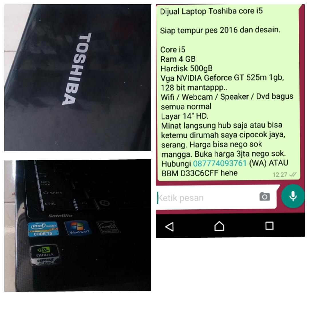 37 Daftar Harga Laptop Toshiba L740 Core Murah Buruan Cek