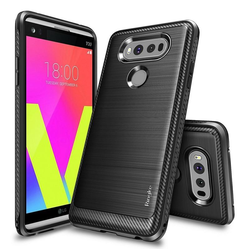 Ringke LG V20 Case Onyx Soft Case - Black