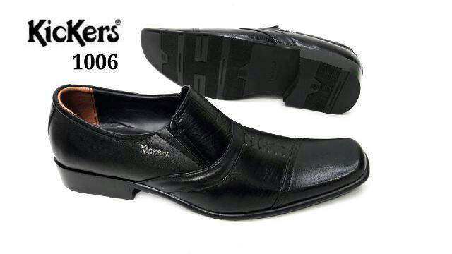 sepatu pantofel kulit kickers