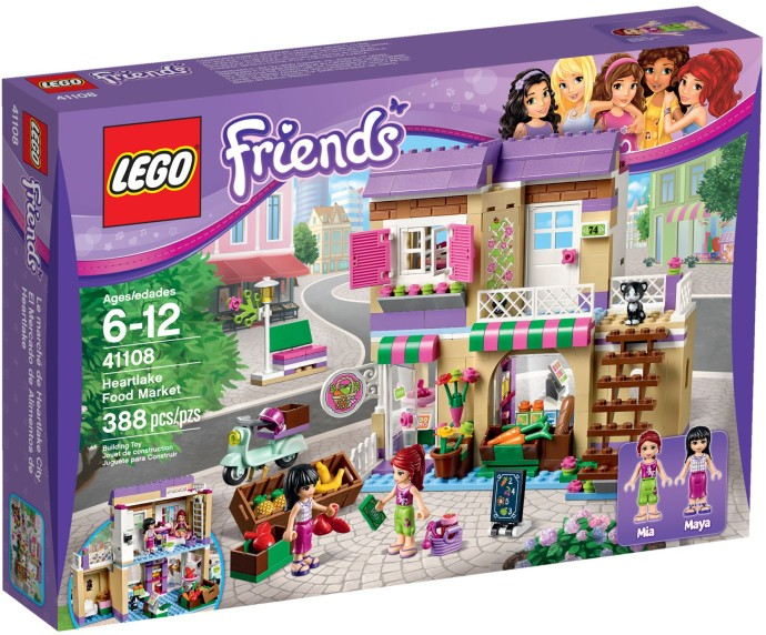 Jual Lego 41108 Friends Heartlake Food Market Original Mainan