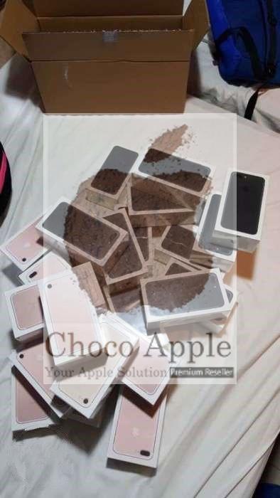 READY STOCK BNIB iPhone 256gb 7 Plus Black Garansi Apple 1 Tahun