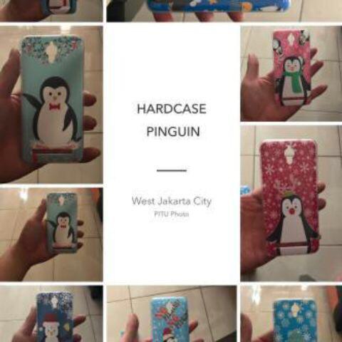 Hardcase Pinguin Iphone,Samsung,Xiaomi,Oppo,Asus