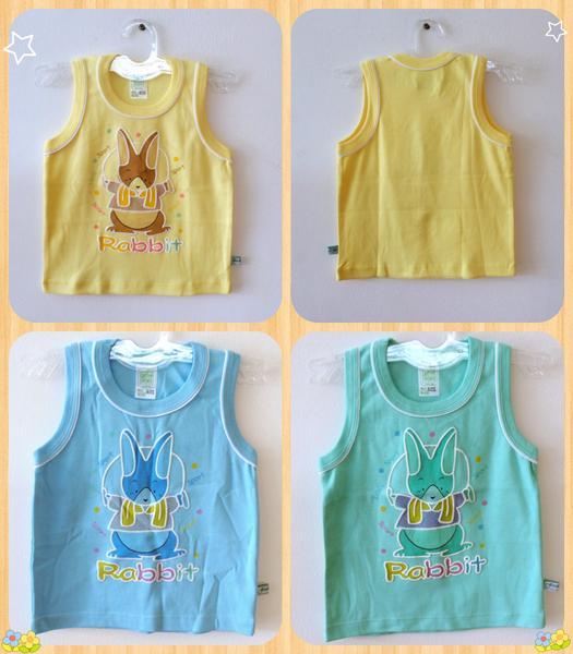 Jual Baju Atasan Tanpa Lengan Anak Bayi Laki Perempuan