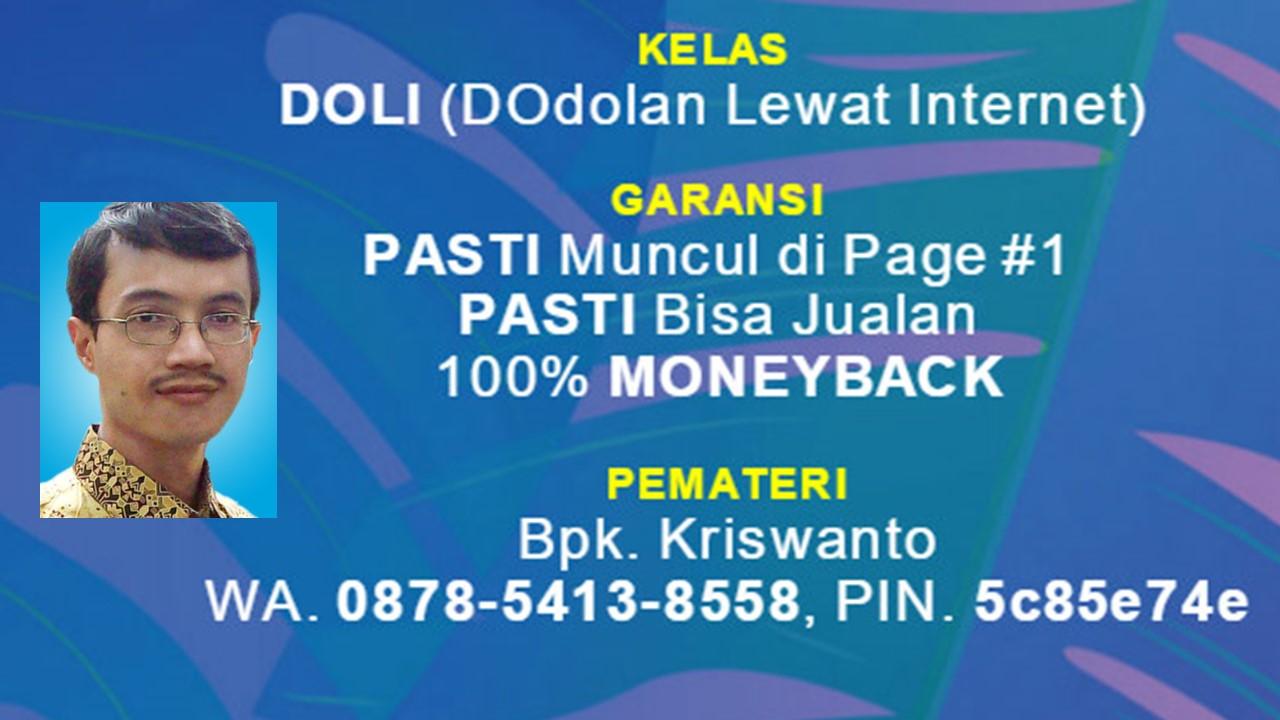 Les Privat SEO Jakarta, Belajar SEO Jakarta, Kursus SEO Jakarta