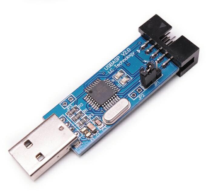 Jual usb isp usbasp arduino avr programmer freelab