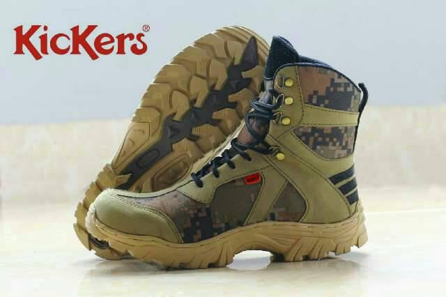 sepatu boot kickers gozilaz safety