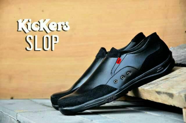 kickers slop tice black