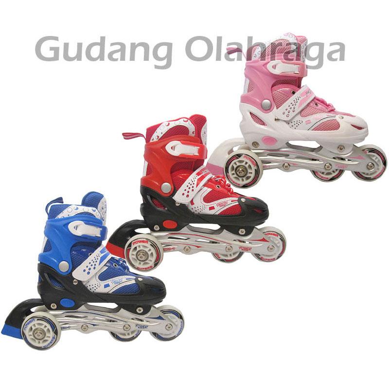 Jual Sepatu Roda Bajaj   Power Superb Inline Skate Model Bajaj ... b907357a43