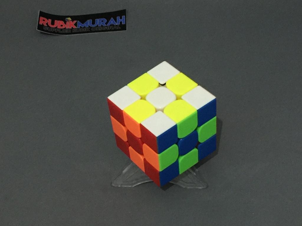 Jual Rubik 3x3 Stickerless Red By Murah Tokopedia