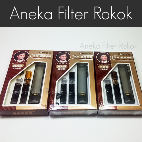 Zobo Zb-805 Filter Rokok Permanen (ukuran Standard)